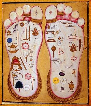 pies yóguicos